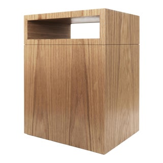 Contemporary 101 Side Table in Natural Oak by Orphan Work, 2019 For Sale