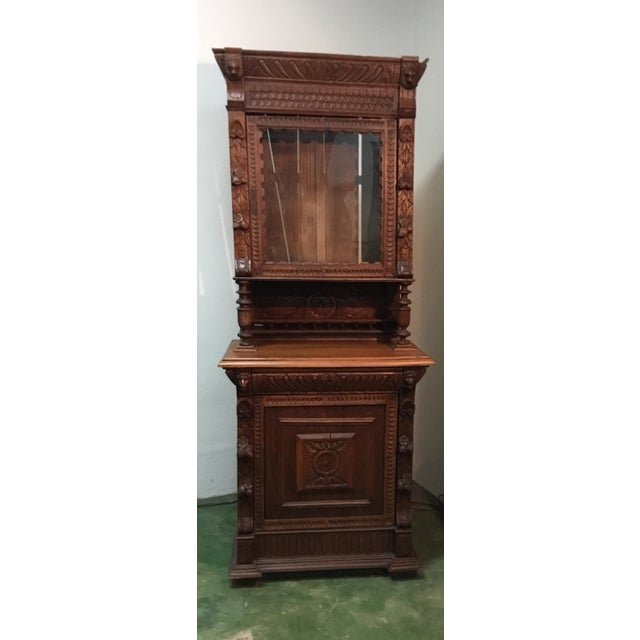 19th Century Belgian Hunt Cabinet For Sale - Image 13 of 13