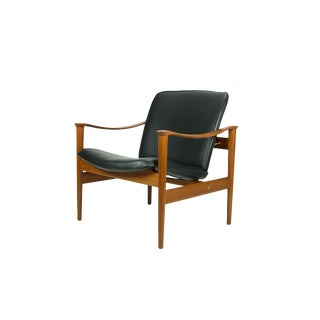 1950s Vintage Fredrik Kayser for Vatne Lenestolfabrik Model 711 Lounge Chair For Sale