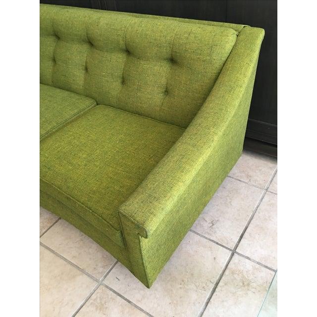 Vintage Lime Green Sofa - Image 7 of 11