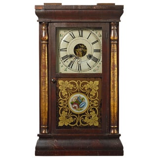 19th Century Seth Thomas Column Shelf Clock For Sale