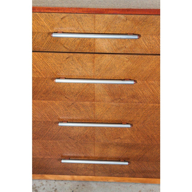 Wood Gilbert Rohde Herman Miller Art Deco 1933 World's Fair Dressers Matched Pair For Sale - Image 7 of 11