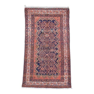 Vintage Persian Malayer Wool Rug - 3′9″ × 7′ For Sale