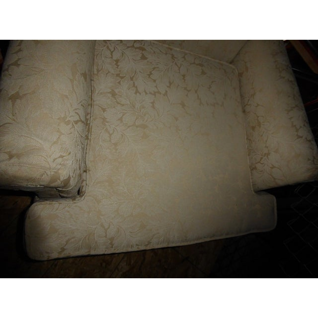Vintage French Country Wingback Chair - Image 8 of 11