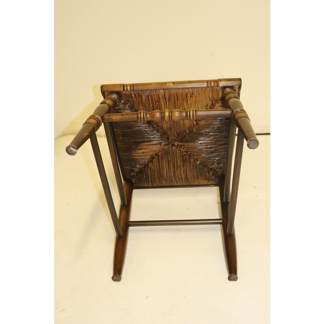 1970s Vintage Hitchcock Limited Edition Chair For Sale - Image 10 of 11