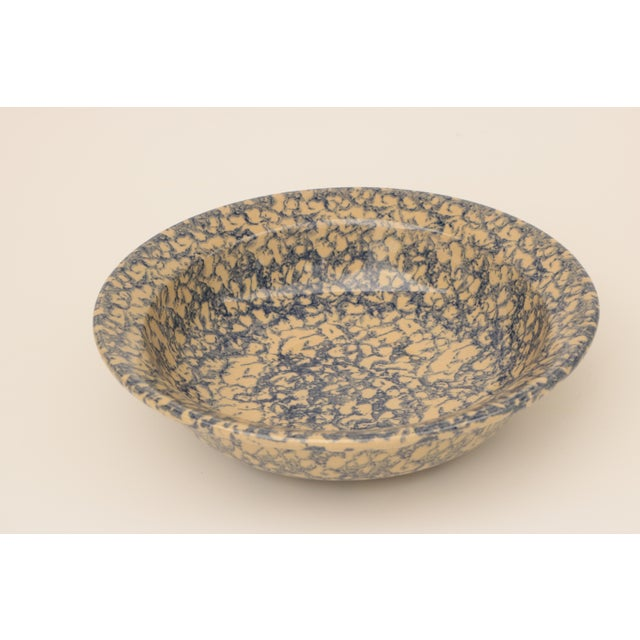 Blue Spongeware Pottery Instant Collection - Set of 11 For Sale In Madison - Image 6 of 8