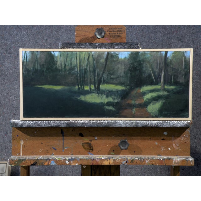 Original Painting - Old Road In The Woods - Image 2 of 3