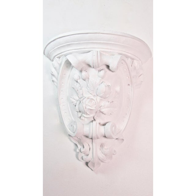 Plaster Antique French Plaster Wall Shelves - a Pair For Sale - Image 7 of 9