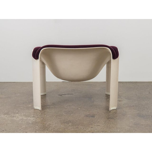 1960s Pierre Paulin F300 Lounge Chair For Sale - Image 5 of 11