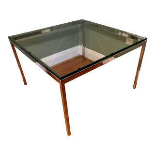 Knoll Mid-Century Modern End Table, Signed For Sale