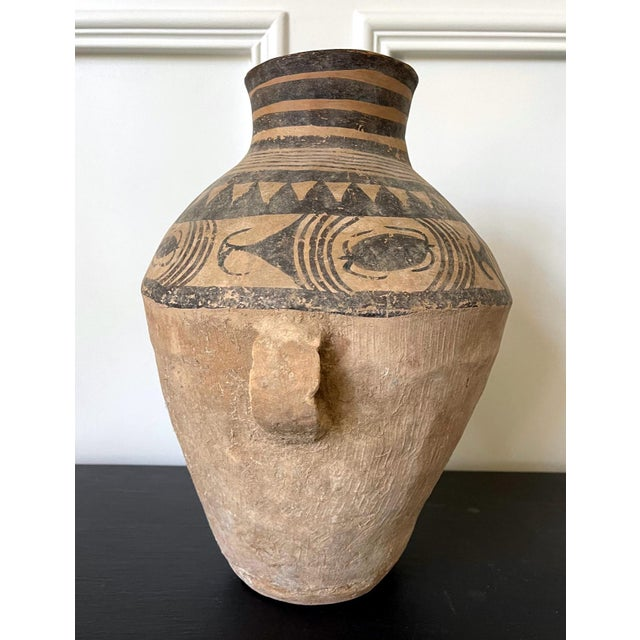 Chinese Neolithic Painted Pottery Jar For Sale - Image 11 of 13