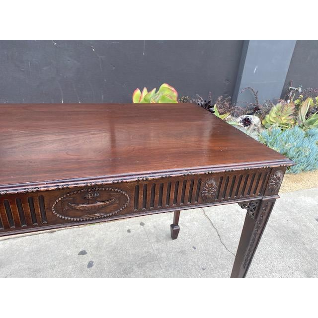 Fine 19th C. English / Irish Mahogony Tea Table For Sale - Image 10 of 12