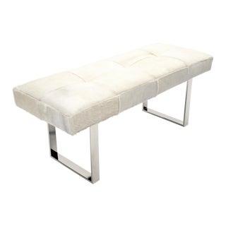 "Dena White 60"" Bench For Sale"