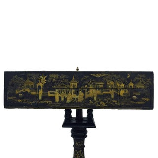 19th Century French Napoleon III Chinoiserie Decorated Games Table Preview