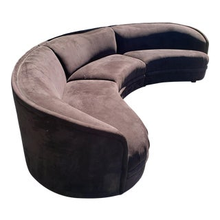 Vladimir Kagan Biomorphic Sectional Sofa For Sale