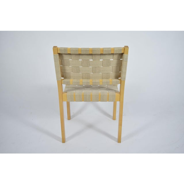 Birch Alvar Aalto 615 Chairs - Set of 8 For Sale - Image 7 of 8