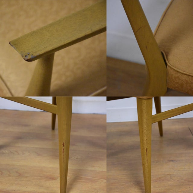 Dining Table and Chairs by Paul McCobb - Set of 7 For Sale - Image 12 of 13