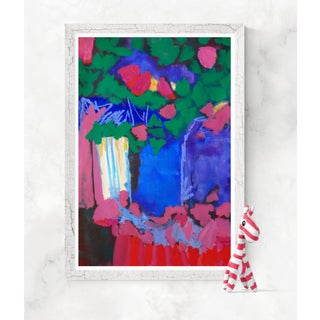 Tree Blossoms by VEThomson, Contemporary Abstract Preview