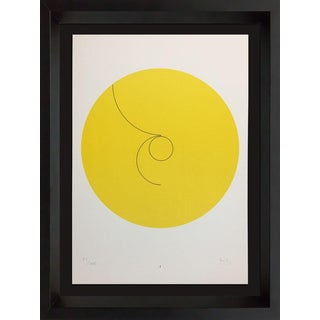 "Minimalist Original Lithograph, ""Constellations I"" by Max Bill For Sale"