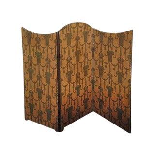 Screen - Art Deco 3-Panel Folding Screen