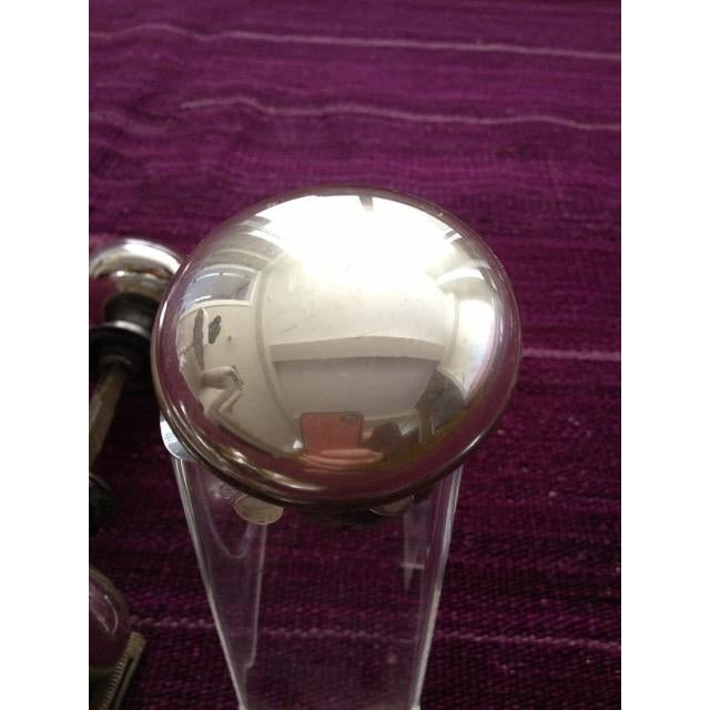 Mercury Glass Door Knobs - 4 Sets For Sale - Image 9 of 11