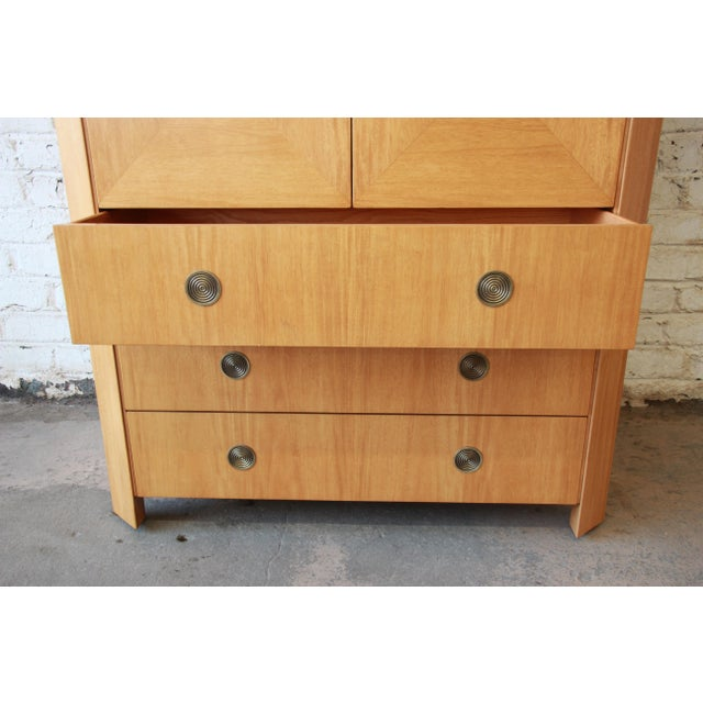 Brown Charles Pfister for Baker Primavera Wardrobe Dresser For Sale - Image 8 of 13
