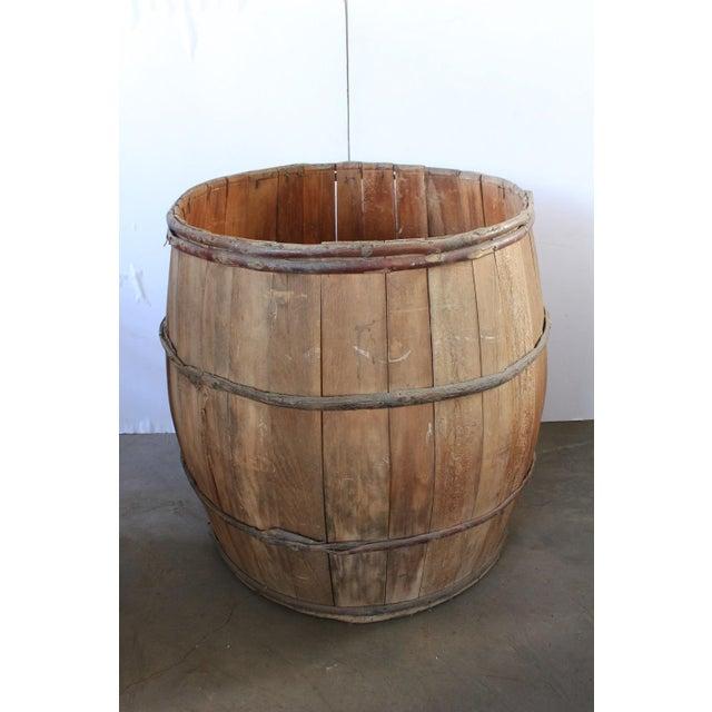 Giant Vintage Wood Barrell