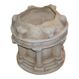 1990s Vintage Figural Amphitheater Ceramic Planter For Sale