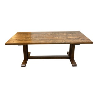 Wooden Duck Reclaimed Craftsman Style Table For Sale