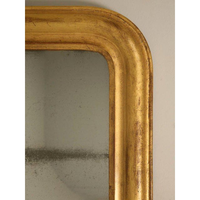 French Louis Philippe Gilt Mirror, Circa 1850 For Sale - Image 11 of 12