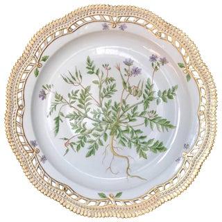 Flora Danica Platter For Sale