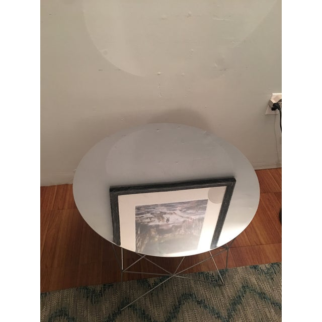 West Elm Mirrored Coffee Table - Image 3 of 4