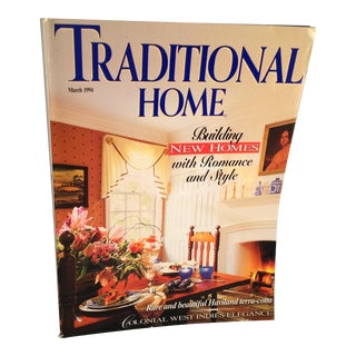 """March 1994 """"Traditional Home"""" Book For Sale"""