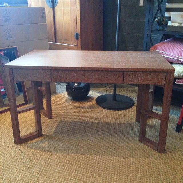 Bungalow 5 Desk in Cerused Oak - Image 2 of 4