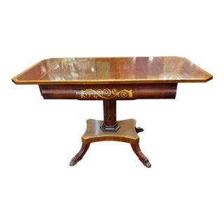 Antique Regency Style Mahogany Pembroke Table For Sale