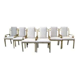 Mastercraft Greek Key Dining Chairs - Set of 6