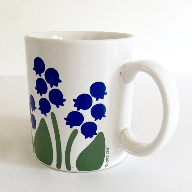 Anchor Hocking 1983 Nina Lily of the Valley Coffee Mug For Sale - Image 4 of 9