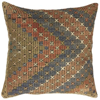 "Vintage Kilim Pillow | 24"" For Sale"