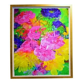 """Johnny Nicoloro """"Mini Carnations, Matsumoto Aster & Daisy"""" Original Photo Artwork For Sale"""