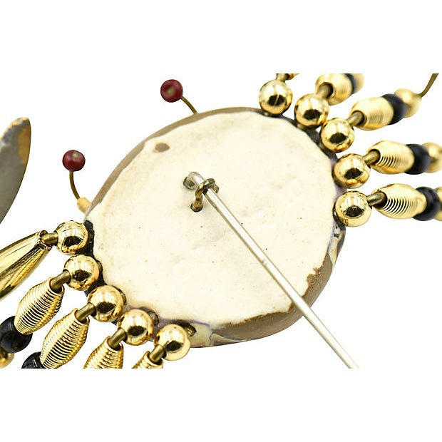 Early 21st Century Crab Crawler Brooch by Jewelry 10 For Sale - Image 5 of 7