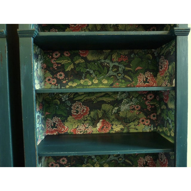 Boho Chic Boho Chic Vintage Bookcases For Sale - Image 3 of 4