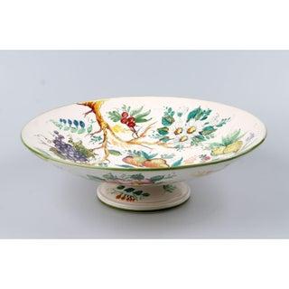 Italian Ceramic Fruit Plate Preview