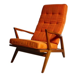Mid-Century Modern Architectural Lounge Chair For Sale