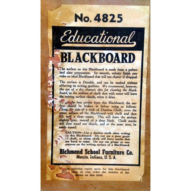 1930s Lithoplate Chalkboard & Art Desk - Image 10 of 10