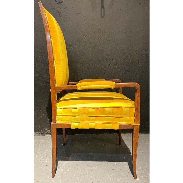 Mid-Century Modern Six Tommi Parzinger Dining Chairs, Originals For Sale - Image 9 of 13