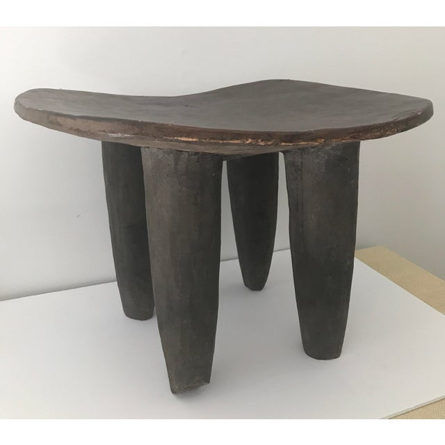 African Carved Senufo Stool - Image 2 of 9