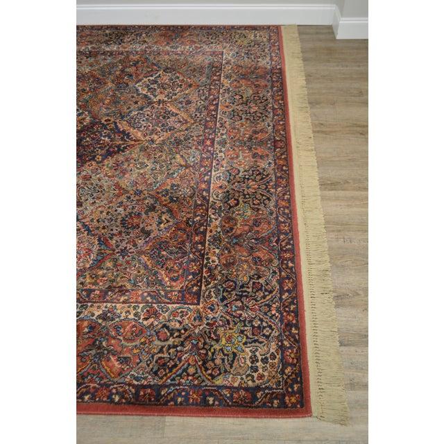Karastan 8.8x12 Multicolor Panel Kirman Room Size Rug # 717 For Sale - Image 4 of 13