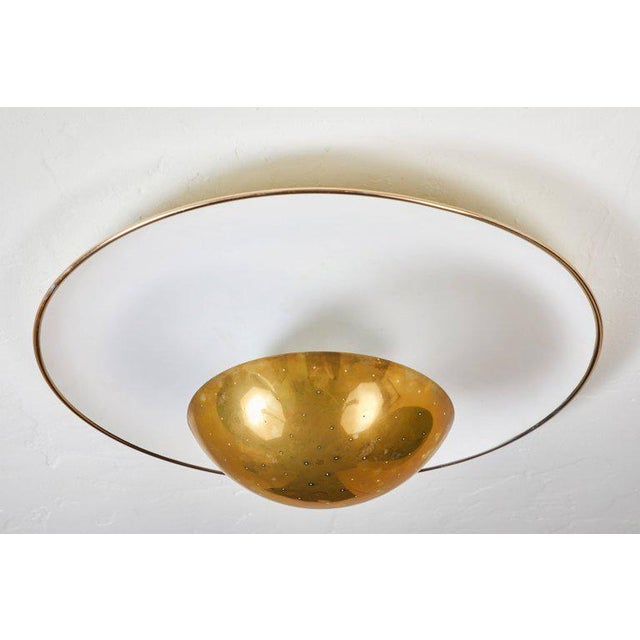 Arteluce 1950s Gino Sarfatti Ceiling Lamp Model #155 for Arteluce For Sale - Image 4 of 11