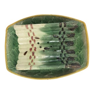 French Choisy Le Roi Asparagus Server For Sale