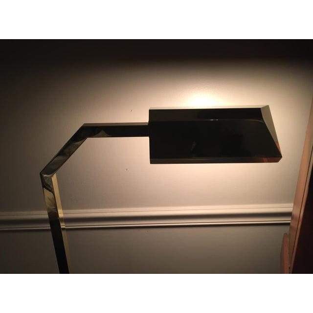 E.F. Chapman 1970s Mid-Century Modern Chapman Brass Floor Lamp For Sale - Image 4 of 9